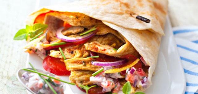 Kebab de Dinde